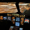 Flight Deck at night