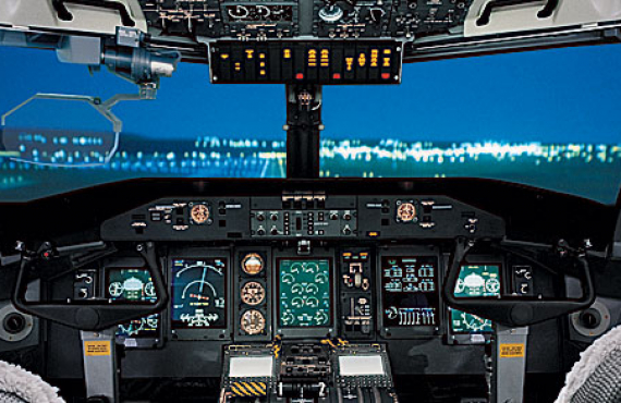 DASH 8-Q400 Flight Deck