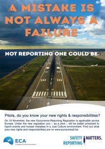 When in doubt, always report